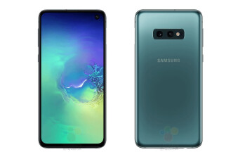 This is the Galaxy S10e, Samsung's dual-camera iPhone XR competitor