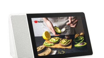 Save $100 (50%) on the Lenovo 8-inch Smart Display with Google Assistant