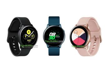 Samsung Galaxy Sport shows off its stylish design in three pretty colors