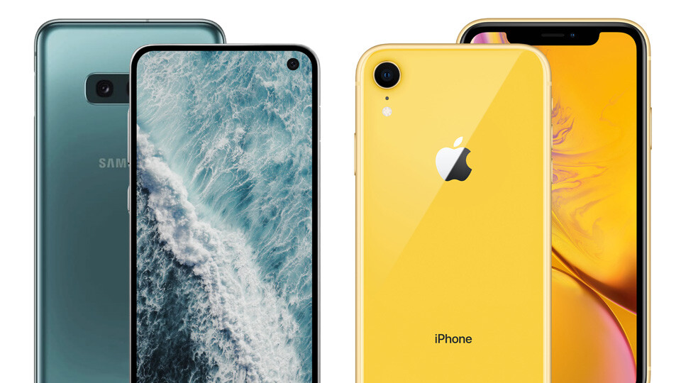Galaxy S10E vs iPhone XR preview, the art of the 'affordable' flagship