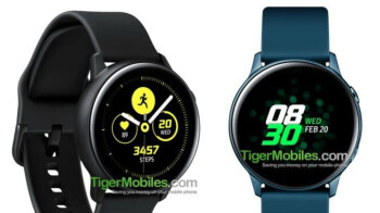Samsung Galaxy Watch Active leaked specs suggest bigger display, but smaller battery