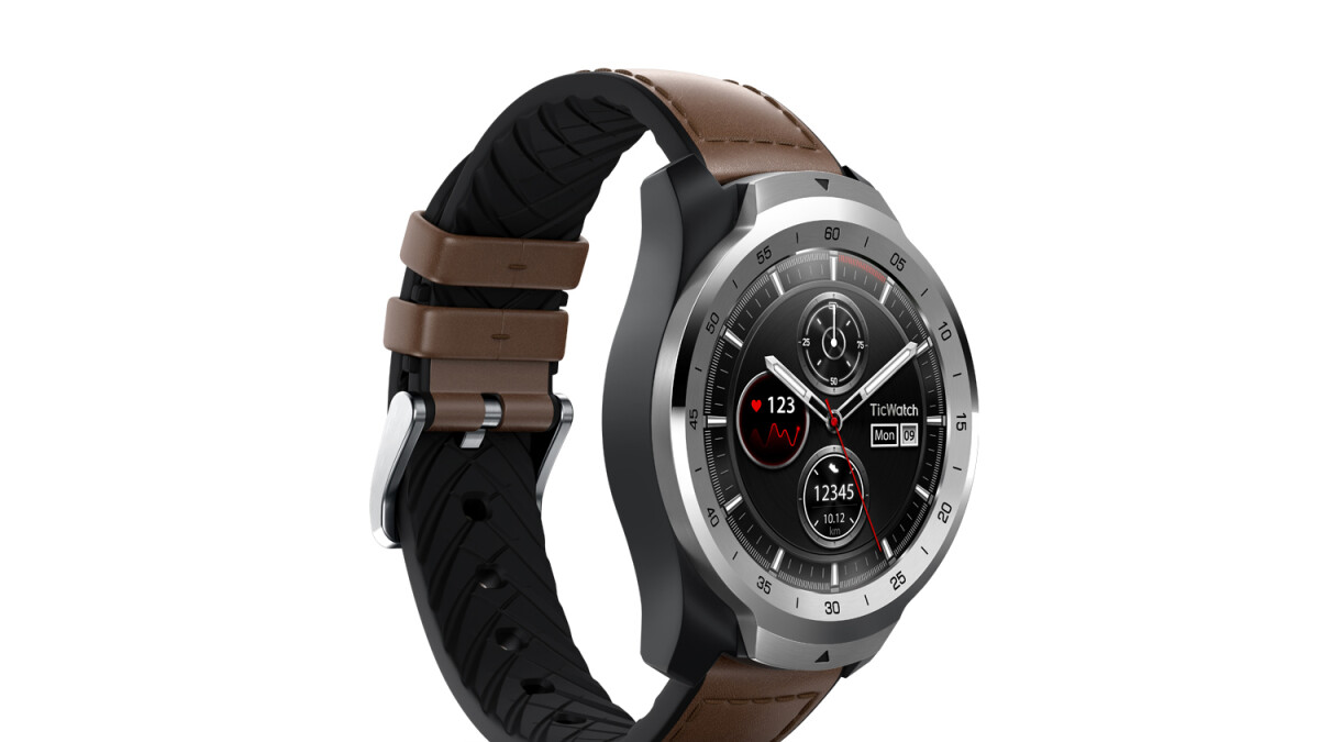 Dual display Mobvoi TicWatch Pro costs $200 with free TicBand included after $100 discount