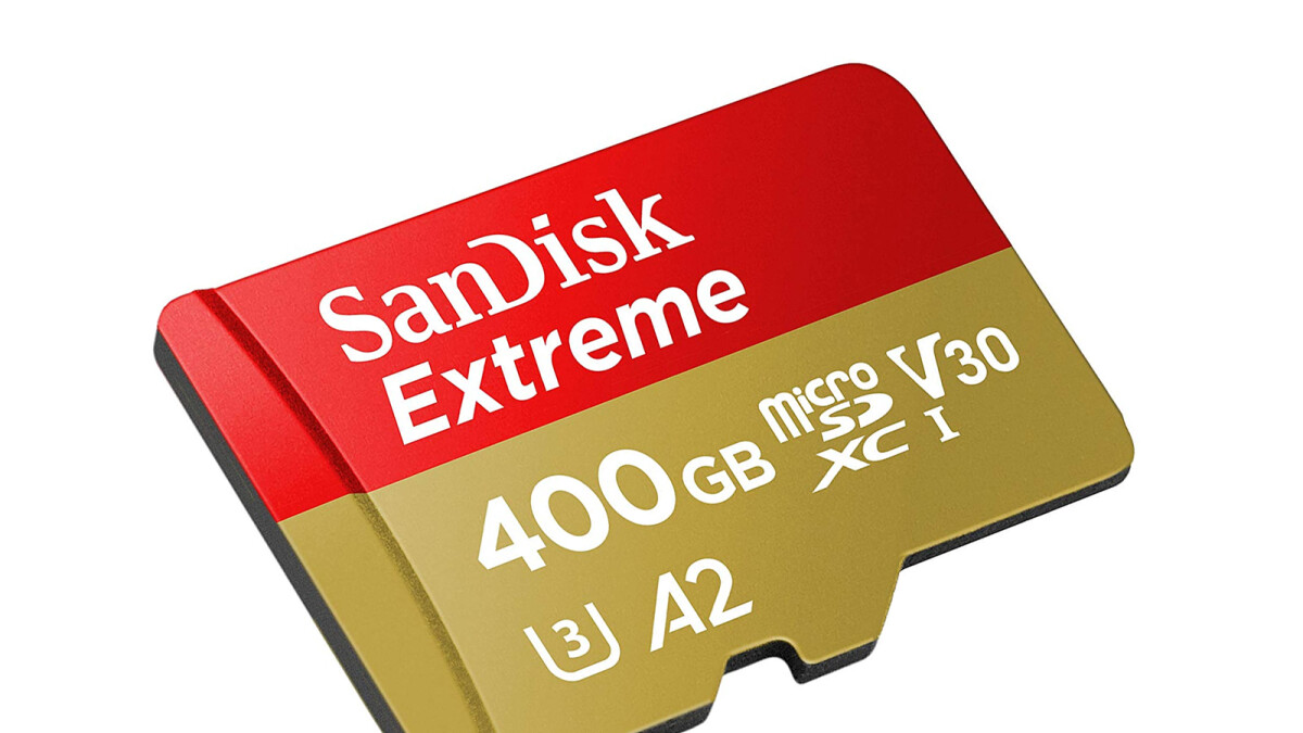 Grab a 400GB SanDisk Extreme microSD card at its lowest ever price!