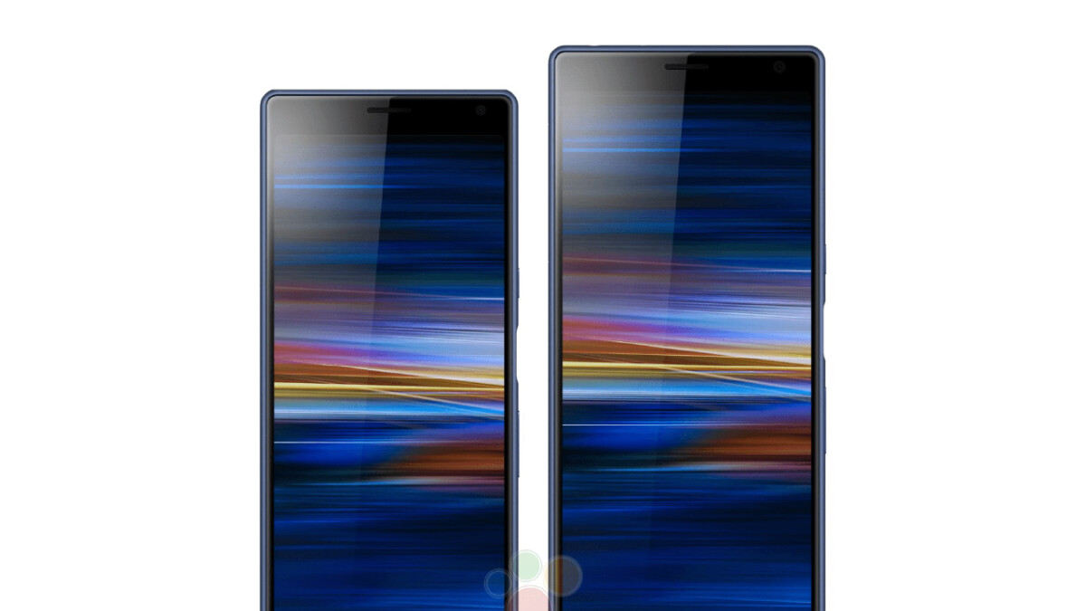 Sony Xperia XA3 Ultra shows off its tall design in leaked press renders