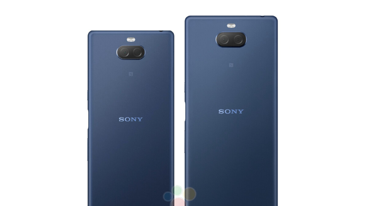 The Xperia 10 and 10 Plus, Sony's rumored Xperia XA series replacements