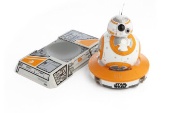 Save 31% on the app-controlled BB-8 Star Wars droid with trainer pad, deal ends today!