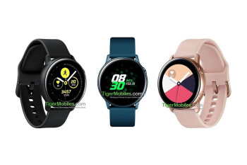 Samsung Galaxy Watch Active running One UI shown off in new official images