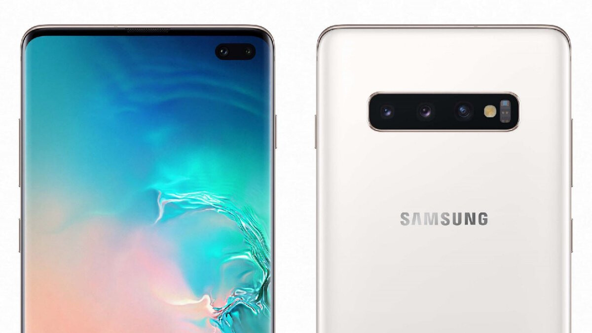 Crazy specs, ceramic back. This is the Galaxy S10+ in Ceramic White and Ceramic Black!