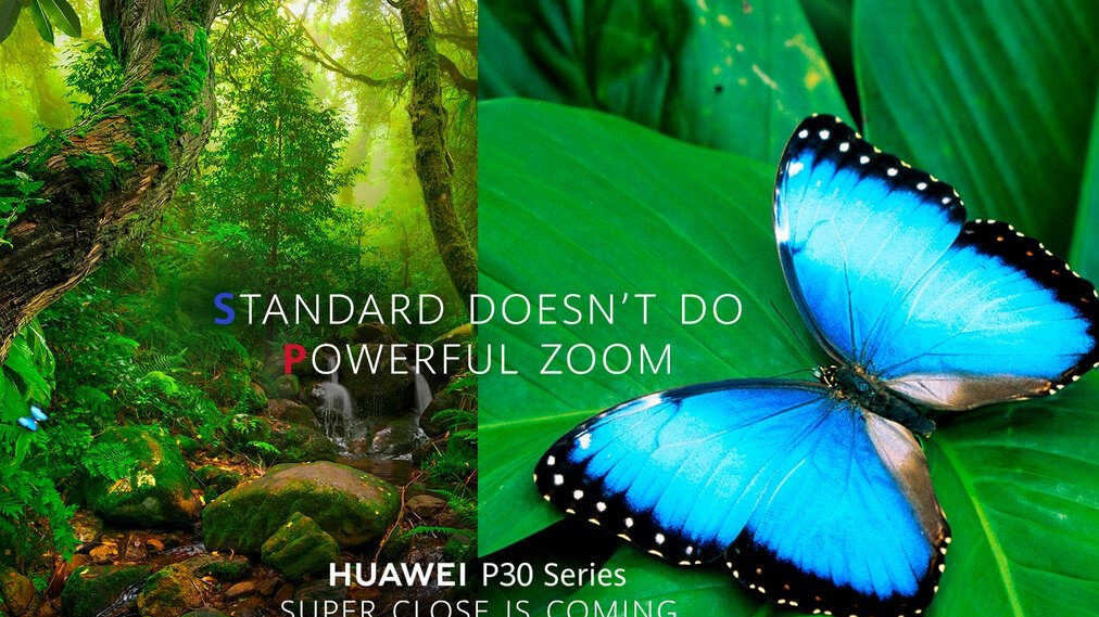 Huawei wastes no time mocking the Galaxy S10 to hype the P30 series