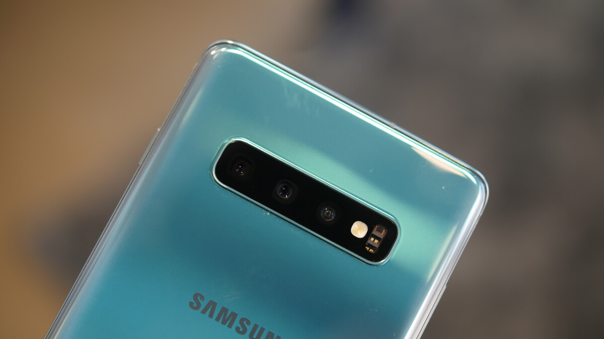 The Galaxy S10's Wireless PowerShare requires a minimum charge to work
