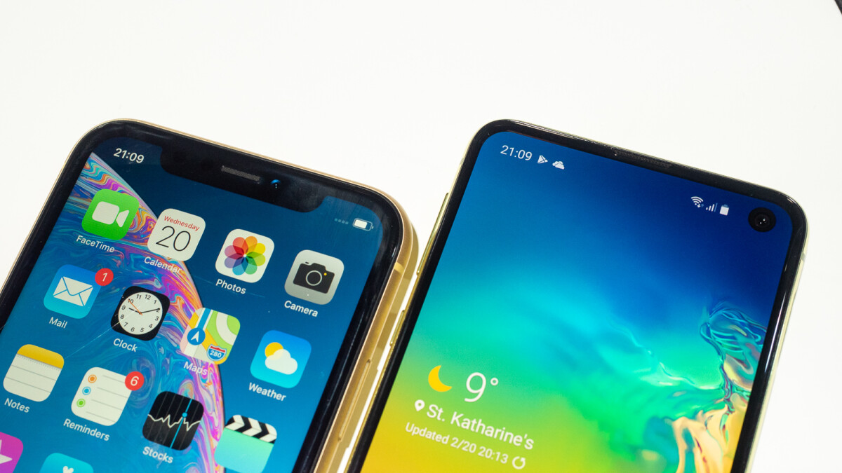 Samsung Galaxy S10e vs iPhone XR: does Samsung's $750 offer trample over Apple's