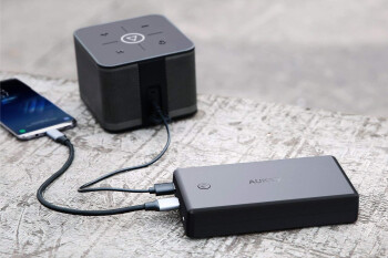 Deal: 30,000mAh Aukey power bank with Quick Charge 3.0 and PD gets discounted on Amazon, save 26%!