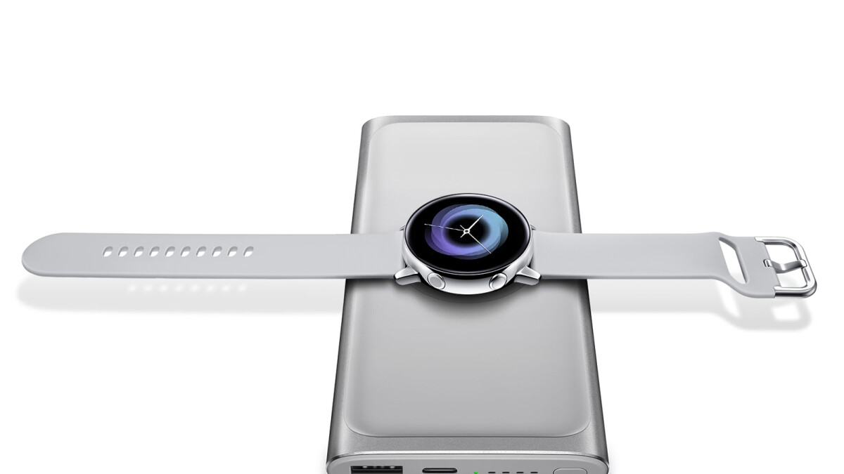 Pre-order a Samsung Galaxy Watch Active and get a free wireless charging pad or battery pack