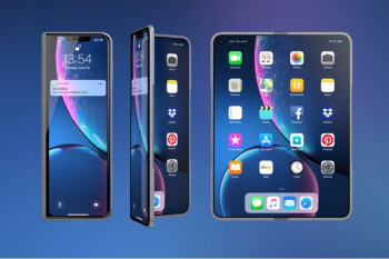 Foldable iPhone concept inspired by the Galaxy Fold reveals a stunning device