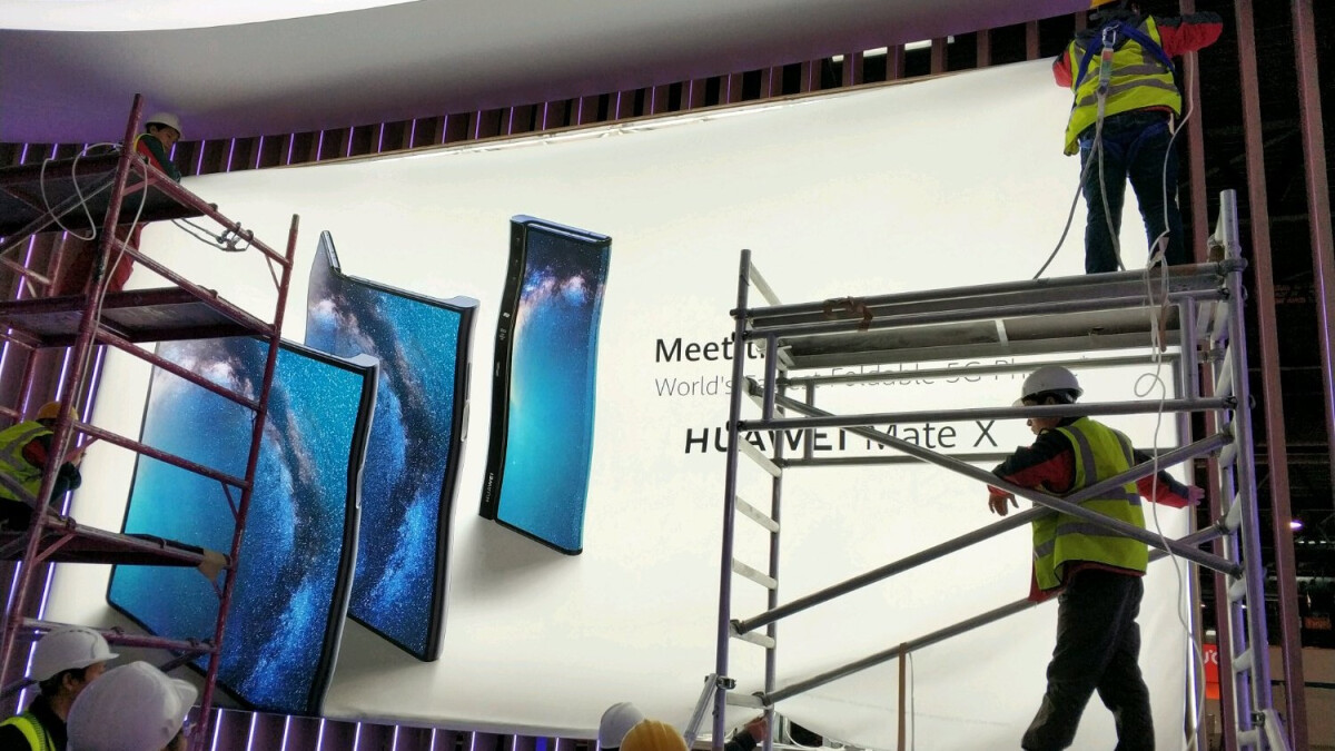 Foldable Huawei Mate X leaks as 5G Galaxy Fold competitor