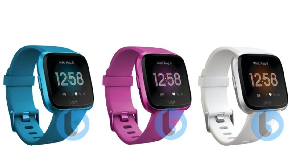 The Versa Lite is Fitbit's next bright-colored smartwatch