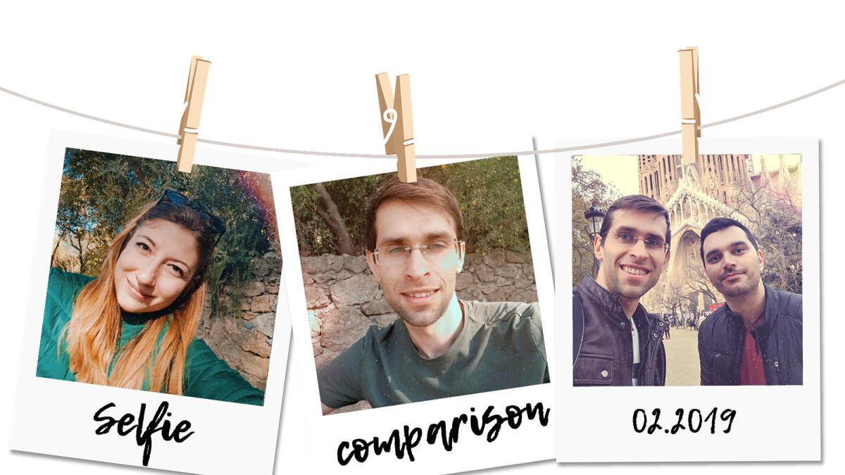 Selfie comparison: Galaxy S10+ vs iPhone XS, Pixel 3, OnePlus 6T