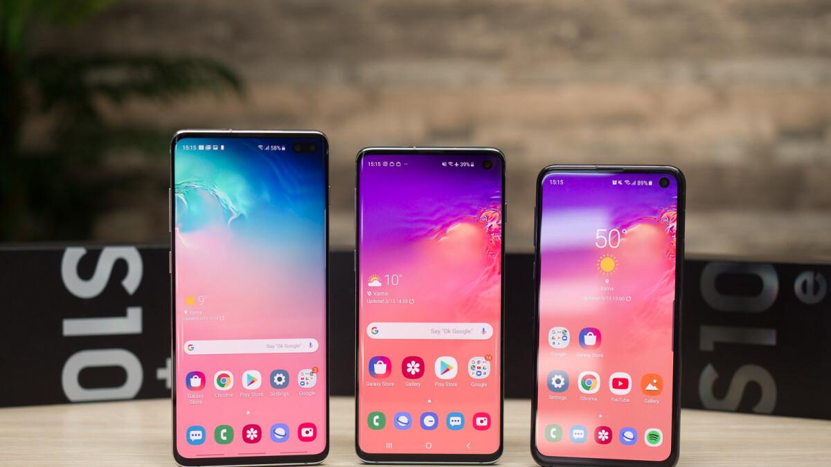 Samsung Galaxy S10, S10e und S10 Plus: So machen Sie einen Screenshot