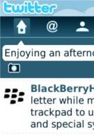 Twitter app for BlackBerry will get an update tonight