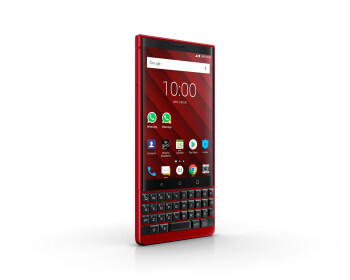 The BlackBerry KEY2 looks smoking hot in red, limited edition coming soon