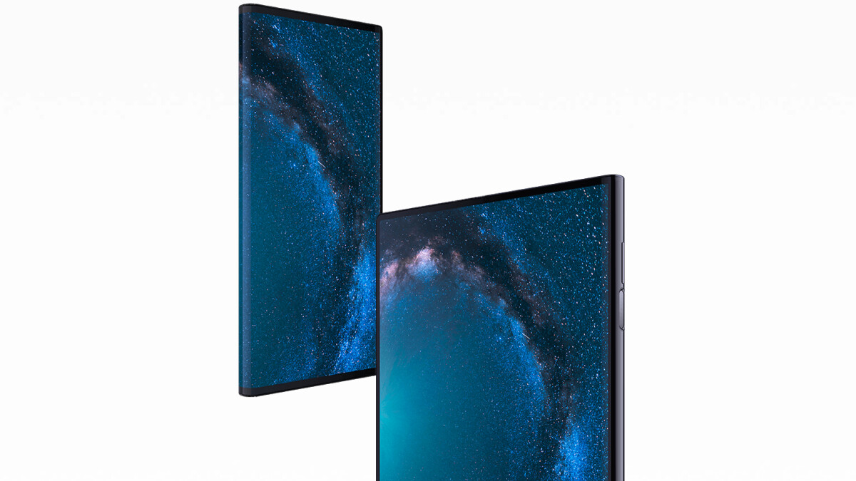 Huawei announces the foldable Mate X: it folds outwards!