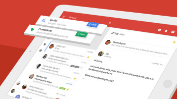 The new Gmail for iOS is completely white, new design rolling out now