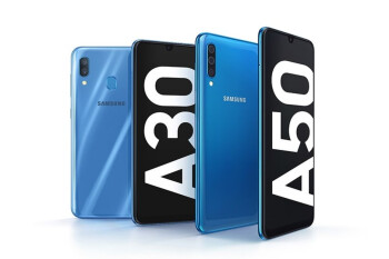 Samsung Galaxy A50 & A30 debut with Infinity-U displays, ultra-wide cameras