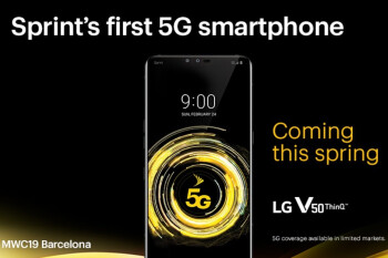 Sprint's 5G mobile network rollout starts with four big cities in May