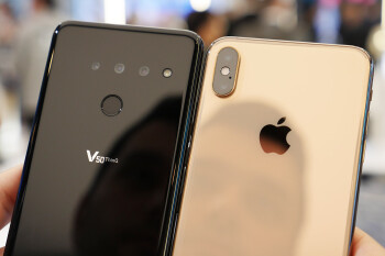 LG G8 and LG V50 versus the iPhone XS Max: first look!