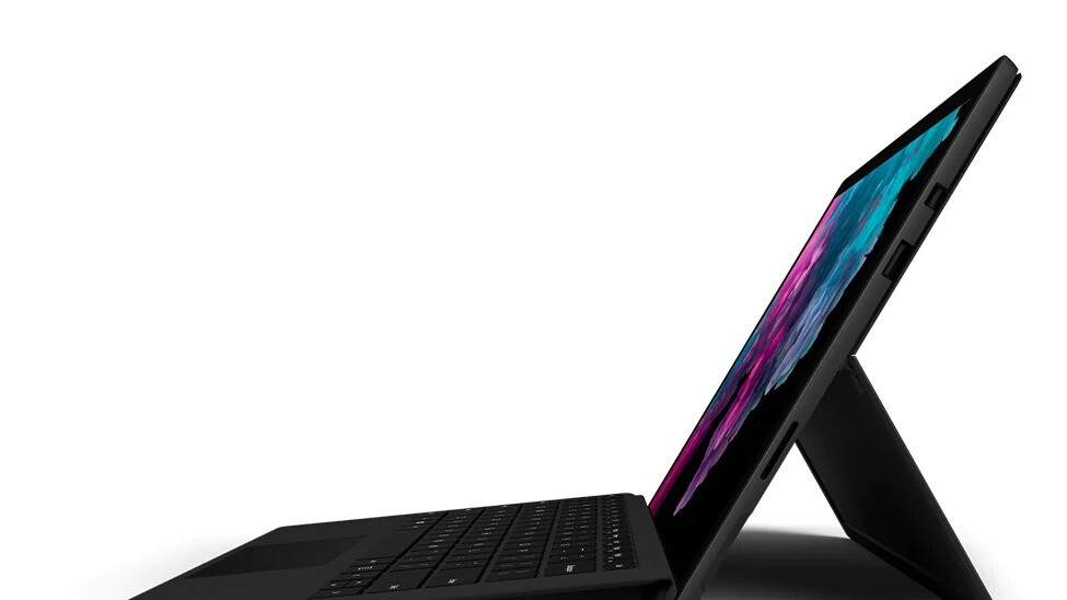 Sweet new Surface Pro 6 deal bundles the tablet with a keyboard at $260 off