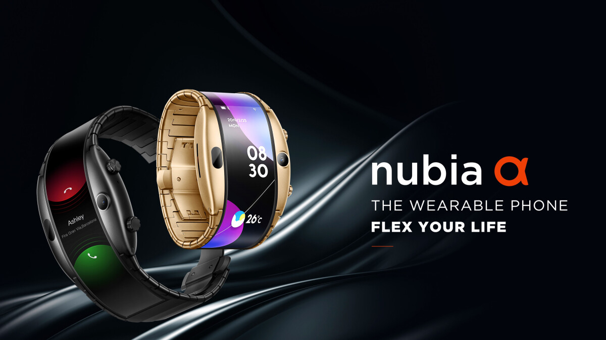 The Nubia Alpha is a wearable phone that can also take selfies