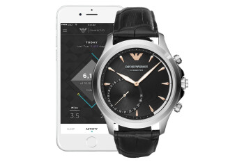 This incredibly stylish Emporio Armani smartwatch is available for a crazy low $98 at Macy's (60% off)