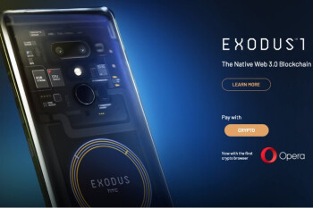 HTC Exodus 1 blockchain phone gets a price in real money and new crypto-features