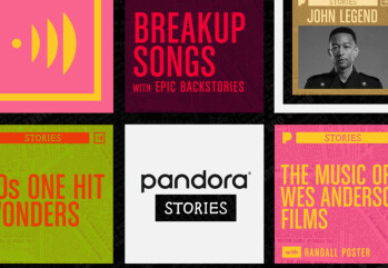 Pandora's new Stories feature mixes podcast and music streaming elements