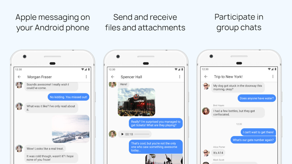 New app brings iMessage texts to Android phones using a clever workaround