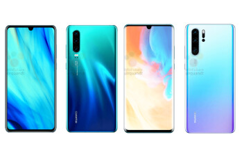 Huawei P30 & P30 Pro leak with lots of cameras, tiny notches, and much more