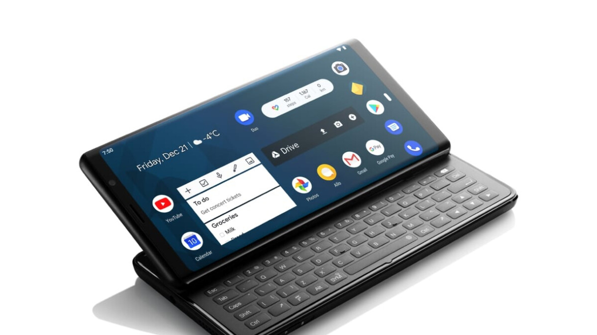 This $649 Android phone has a full-size slide-out keyboard and modern specs