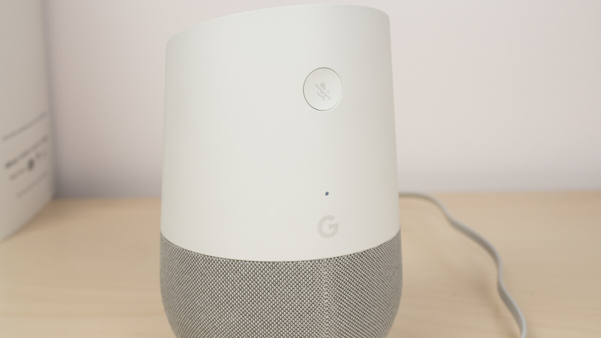 Google Home smart speakers are getting support for Duo audio-only calls