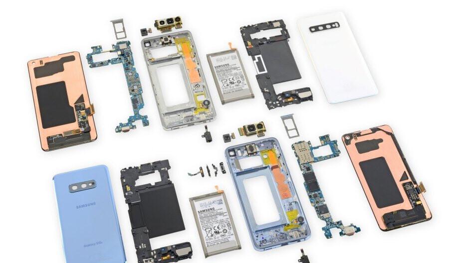 Complete Galaxy S10 and S10e teardown reveals major repairability concerns