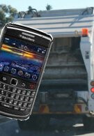 British garbage truck drivers are being given BlackBerry smartphones