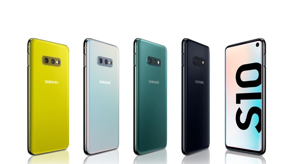 The Galaxy S10e, S10 and S10+ release is today, which color are you getting?