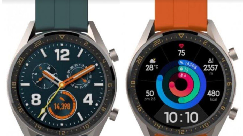Huawei expected to introduce two refreshed versions of its Watch GT device
