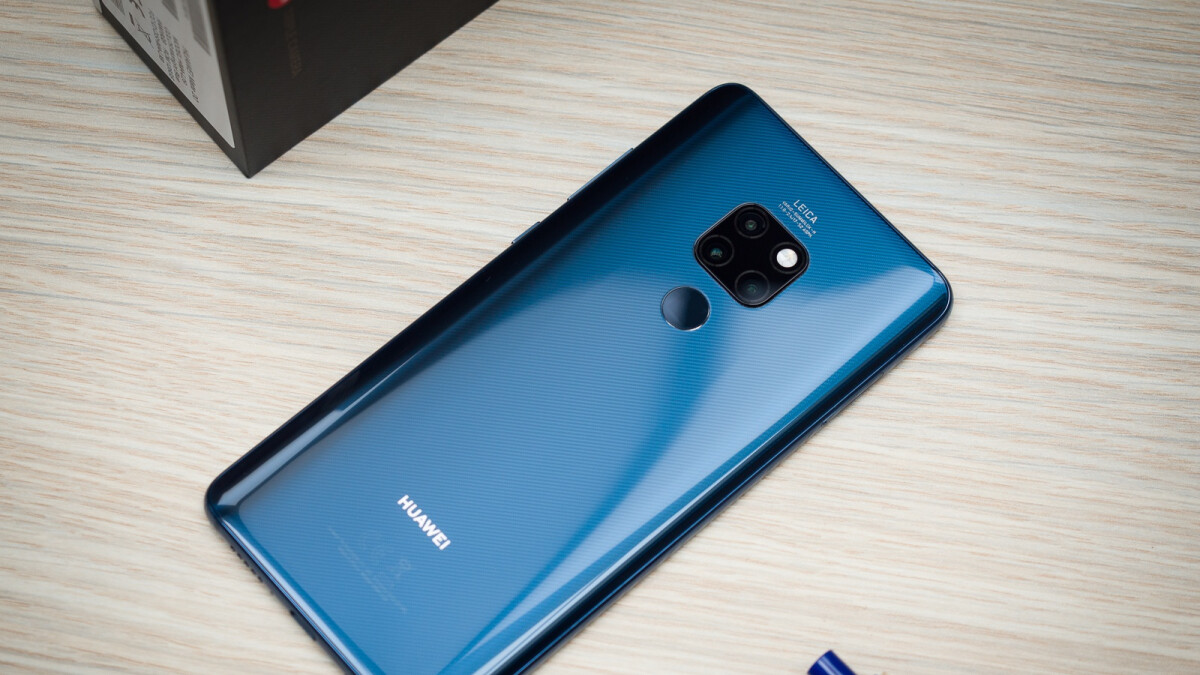 Huawei Mate 20 sales achievement proves the company doesn't need the US to succeed