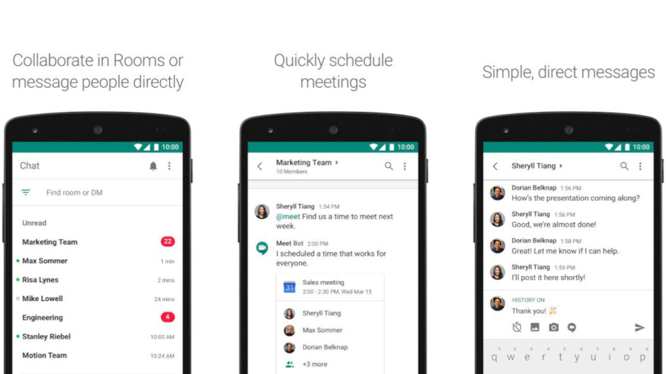 Google brings another important new feature to Hangouts Chat, but only on Android