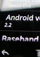 Android 2.2 now available on the Nexus One?