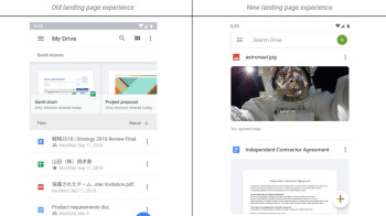 Material Theme design begins rolling out to Google Drive for Android and iOS