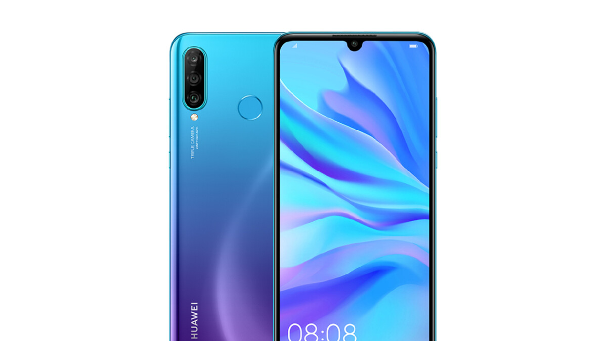 Leaked Huawei P30 Lite press renders showcase extra rear camera, tiny notch