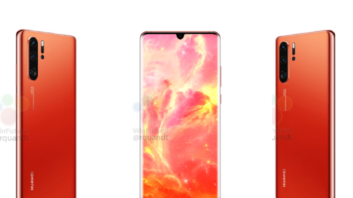 New Huawei P30 Pro renders reveal one nasty surprise (and a gorgeous new color)