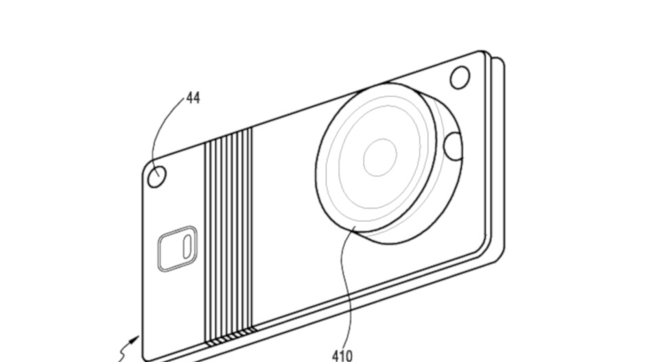 Samsung believes a foldable smartphone with removable camera is a good idea