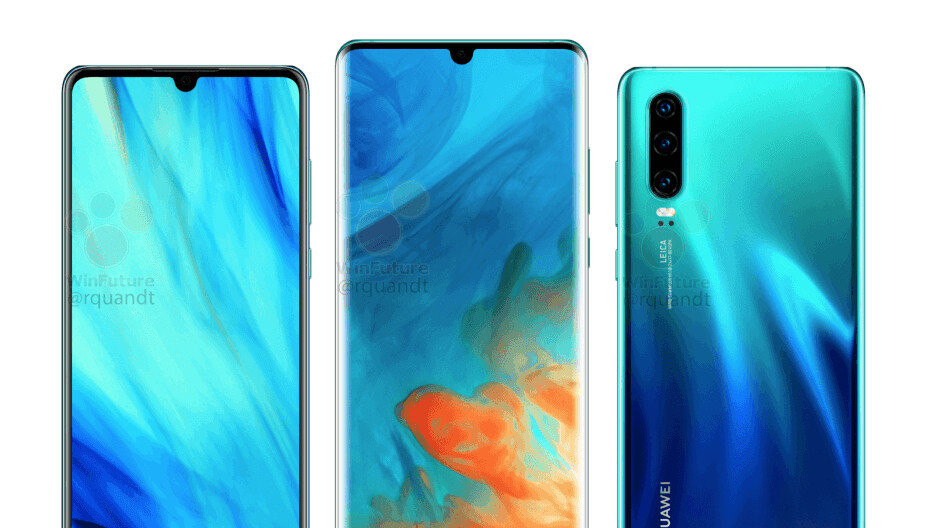 Huawei may have given up and picked Samsung as P30/Pro OLED display supplier